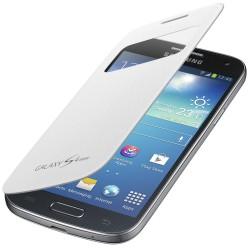 Flipové pouzdro S-view Samsung Galaxy S4 mini - bílé