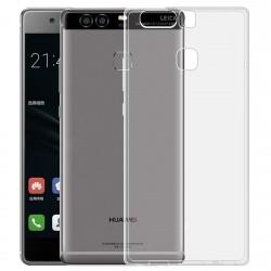 Silikonový kryt pro Huawei P9 Plus - průhledný