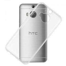 Silikonový kryt pro HTC M9 Plus - průhledný