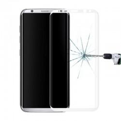 3D Tvrzené sklo pro Samsung Galaxy S8 - bílé