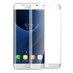 3D Tvrzené sklo pro Samsung Galaxy S7 Edge - bílé