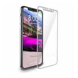 4D Tvrzené sklo pro Apple iPhone X - bílé