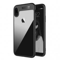 Auto Focus obal pro Apple iPhone X - černý