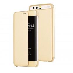 Kryt pro Huawei P10 Plus - Smart View Cover zlatý
