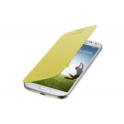 Flipové pouzdro Samsung Galaxy S4 - žluté