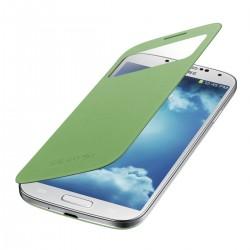Flipové pouzdro S-view Samsung Galaxy S4 - zelené