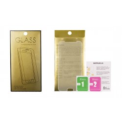 Tvrzené sklo Gold pro Apple iPhone 4/4s