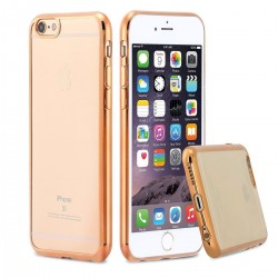 Silikonový kryt pro Apple iPhone 5/5S/SE - zlatý