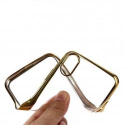 Silikonový kryt pro Apple iPhone X - zlatý