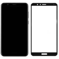 Full Cover Tvrzené sklo pro Huawei Honor 7X - černé
