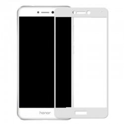 Full Cover Tvrzené sklo pro Huawei P8 Lite (2017) - černé