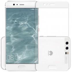 Full Cover Tvrzené sklo pro Huawei P10 Plus - bílé