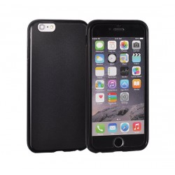 Silikonový kryt Apple iPhone X - černý