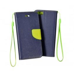 Fancy pouzdro pro Apple iPhone X - černo/zelené