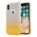 Kryt Bling pro Apple iPhone X - zlatý