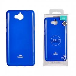 Pouzdro Goospery Mercury Jelly pro Huawei Y5 II (2017) - modrý