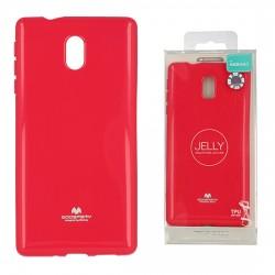 Pouzdro Goospery Mercury Jelly pro Nokia 3 - růžový