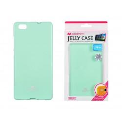 Pouzdro Goospery Mercury Jelly pro Huawei P8 Lite - mint