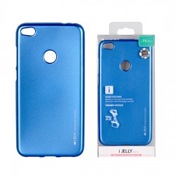 Pouzdro Goospery Mercury Jelly pro Huawei P8/P9 Lite (2017) - modrý