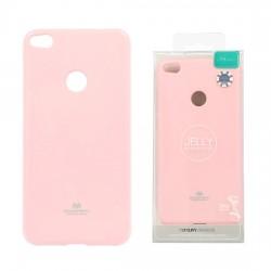 Pouzdro Goospery Mercury Jelly pro Huawei P8/P9 Lite (2017) - světle růžový