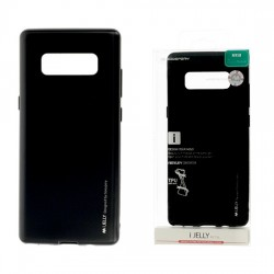 Pouzdro Goospery Mercury Jelly pro Samsung Galaxy Note 8 - černý