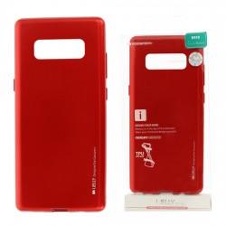 Pouzdro Goospery Mercury Jelly pro Samsung Galaxy Note 8 - červený