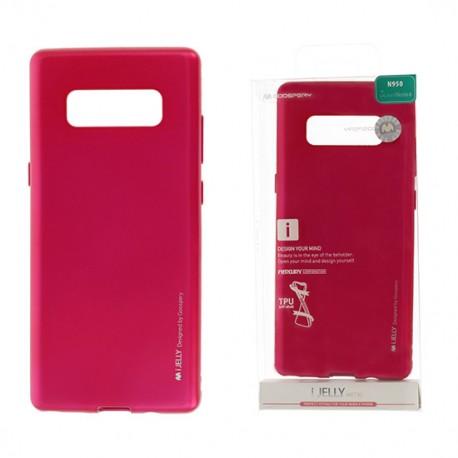 Pouzdro Goospery Mercury Jelly pro Samsung Galaxy Note 8 - růžový