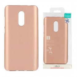 Pouzdro Goospery Mercury Jelly pro Xiaomi RedMi Note 4/4X - světle růžový