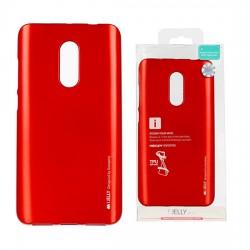 Pouzdro Goospery Mercury Jelly pro Xiaomi RedMi Note 4/4X - červený