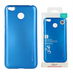 Pouzdro Goospery Mercury Jelly pro Xiaomi RedMi 4X - modrý