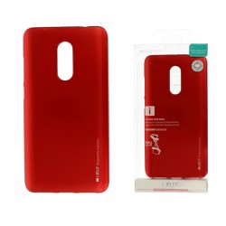 Pouzdro Goospery Mercury Jelly pro Xiaomi RedMi 4A - červený