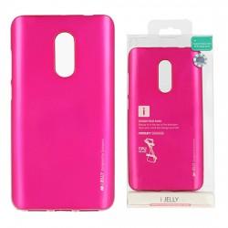 Pouzdro Goospery Mercury Jelly pro Xiaomi RedMi 4A - růžový