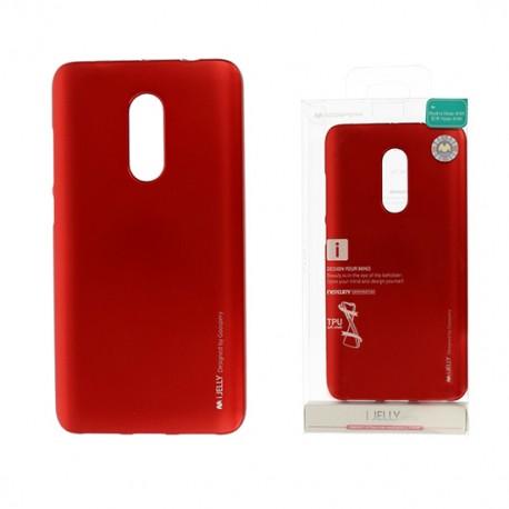 Pouzdro Goospery Mercury Jelly pro Xiaomi Mi 5X/A1 - červený