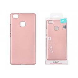 Pouzdro Goospery Mercury Jelly pro Huawei P9 Lite - světle růžový