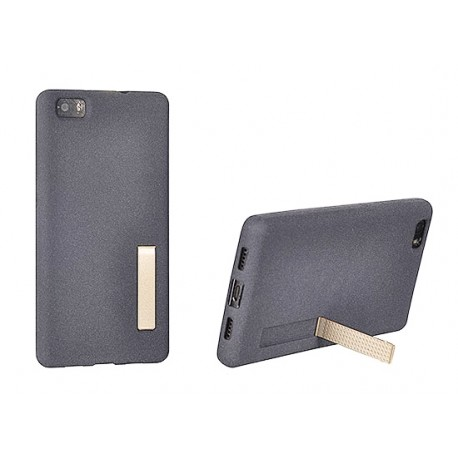 Kryt se stojánkem pro Huawei P8 Lite - šedý