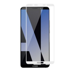 Full Cover tvrzené sklo pro Huawei Mate 10 - bílé