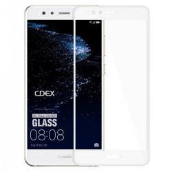 Full Cover tvrzené sklo pro Huawei P10 lite - bílé