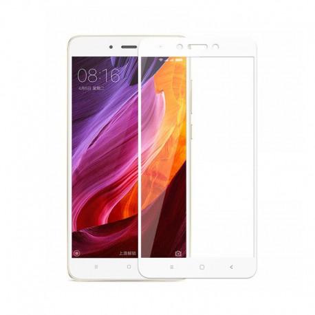 Full Cover tvrzené sklo pro Xiaomi RedMi Note 5A - bílé