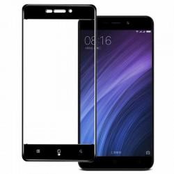 Full Cover tvrzené sklo pro Xiaomi RedMi 4A - černé