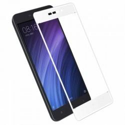 Full Cover tvrzené sklo pro Xiaomi RedMi 4A - bílé