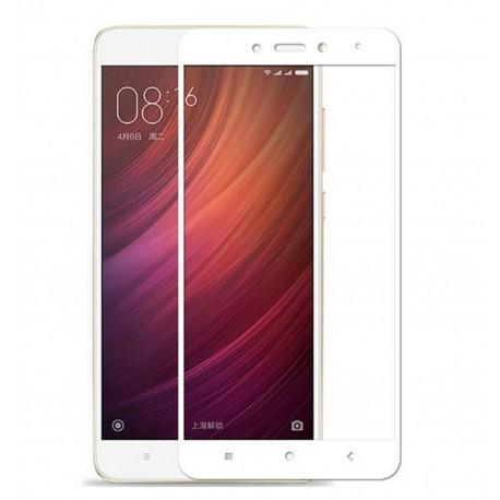 Full Cover tvrzené sklo pro Xiaomi Mi 6 - bílé