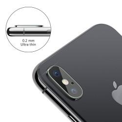 Ochranné sklo na čočku fotoaparátu iPhone X s otvorem