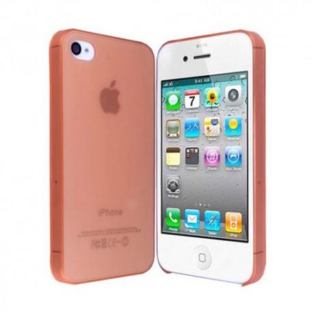 Ultratenký kryt Apple iPhone 4 / 4S oranžový