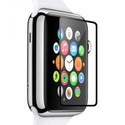 3D tvrzené sklo pro Apple Watch 38mm černé