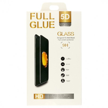 5D Tvrzené sklo pro Samsung Galaxy A3 (2017) - černé