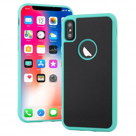 Antigravitační kryt pro Apple iPhone X / Xs - zelený