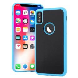 Antigravitační kryt pro Apple iPhone X / Xs - modrý