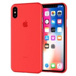 Kryt Apple iPhone X / Xs - červený