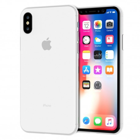 Kryt Apple iPhone X / Xs - bílý
