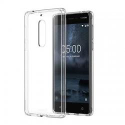 Silikonový kryt pro Nokia 5 - průhledný